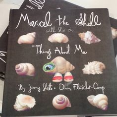 Mercel the Shell. I'm highly entertained by this book. $18.99 at Seaside Kids.