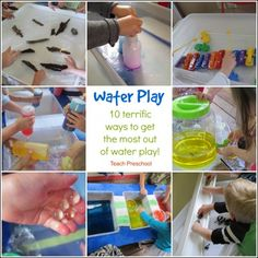 Ten Terrific Ways to Get the Most out of Water Play by Teach Preschool