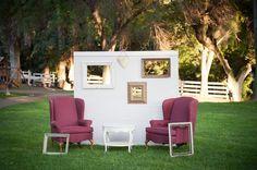 Horse Farm Wedding Chairs