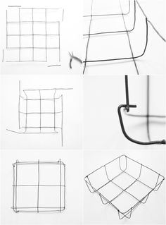 Wire basket tutorial DIY Wire Storage