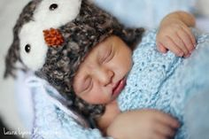 newborn photo pose #newborn #photography #owl