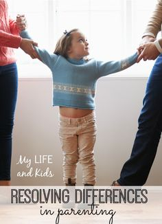 When Parents Disagree about Discipline Tactics - what do do when you and your other half don't agree on how to discipline your child. GREAT ADVICE!!!