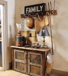 Family decor, rustic charm, countri live, old wood, wood bowls, old cabinets, country, old stuff, primitive homes