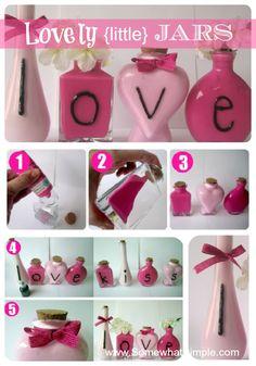 Darling Valentine craft/decor!