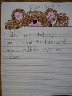 classroom idea, name tags, teddi bear, teddy bears, classroom extraordinar, bear hold