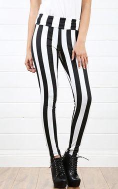 Striped Legging