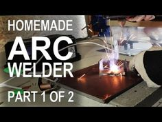 How to convert scavenged microwave parts into a useful arc welding machine.  This is part 1 of 2, and focuses on the modification of the transformers.    http://www.thekingofrandom.com