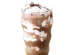 Double Chocolate-Marshmallow Milkshakes Recipe : Bobby Flay : Food Network - FoodNetwork.com
