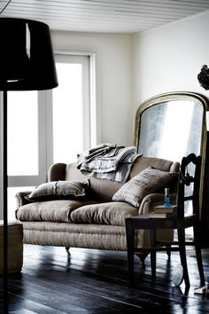 Grainsack cushions...