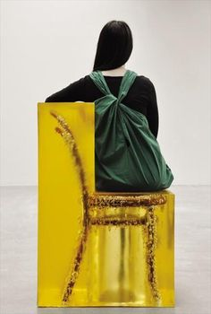 chair in resin. awesome
