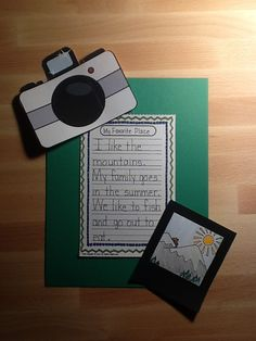 1st Grade Fantabulous: Picture This Writing