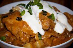 Creamy Chicken & Potato Curry