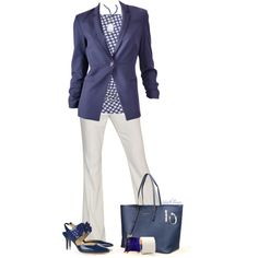 """Jackets & Blazers & Such"" by tufootballmom on Polyvore"
