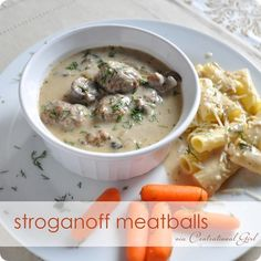 stroganoff meatballs recipe centsational girl
