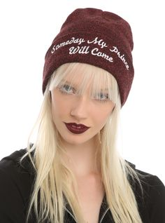 Disney Snow White Someday My Prince Will Come Watchman Beanie | Hot Topic