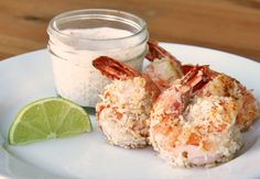 Healthy Coconut Shrimp Recipe #Beanitos #Tailgate