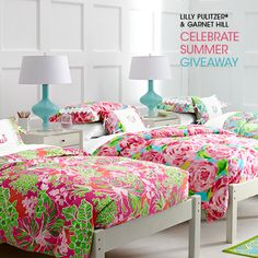 Enter to Win Lilly Pulitzer Bedding by Garnet Hill
