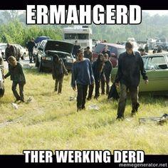 ERMAHGERD! #twd
