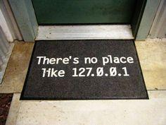 IP address door mat. geeky-stuff