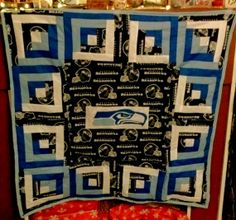 Hey, I found this really awesome Etsy listing at https://www.etsy.com/listing/173627868/seattle-seahawks-baby-quilt