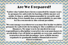 The Idea Door: September 2014 HT Handout - Are We Prepared?