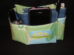 Denim Purse Organizer
