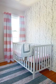 Nursery makeover wit