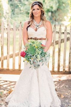 leather belt for this country bride