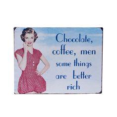 Retro signs «Chocolate»