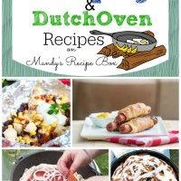 30 Camping  Dutch Oven Recipes