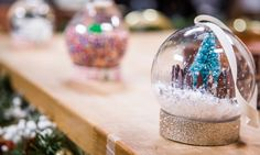 Home & Family - Tips & Products - Jessie Jane's Snow Globe Christmas Ornaments | Hallmark Channel