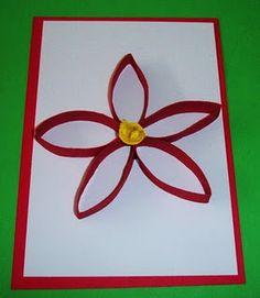 Poinsettia craft