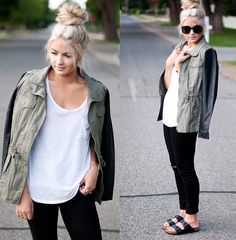 Birkenstocks....going to listen to the cranberries and wear my birks