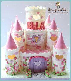 Girlie Castle Cake