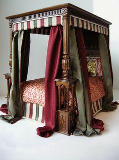 Custom Dressed JBM Bed of Wares by Ken@JBM, via Flickr