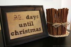 artsycrafti stuff, christmas countdown, christma countdown, christma stuff, frames, dri eras, christma idea, eras frame, christma craft