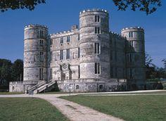 Lulworth Castle, Wareham, Dorset...beutiful place! My friends had a beautiful wedding here! So pretty!