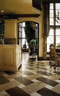 Crossville Porcelain Tile - Floor Patterns - Pattern 94 Photo