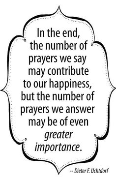 be an answer to a prayer