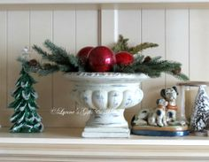 I love using my outdoor urns inside during the winter months for decorating. Add some of our great greens and a few ornaments for your Christmas bling. Don't forget we have Black Friday specials, look forward to seeing you.