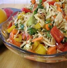 WW Thai Coleslaw-This is a low calorie, low carb, low fat, 1 Points+ recipe. Makes 14 servings.