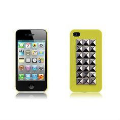 Want to add a pop of color without being too overwhelming? Check out our neon yellow iPhone 4/4S case. $12.99