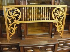 Victorian Architectural Woodwork Gingerbread  Fretwork