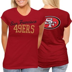 San Francisco 49ers Womens Game Day T-Shirt