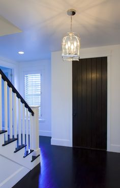 love the dark wooden floors