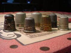 antique thimbles