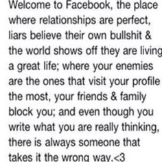 """Isn't this the truth??? Stole it from a """"friend"""" who deleted me lol kidding!!!   Xoxoxo"""