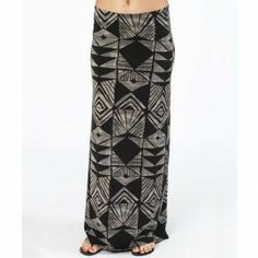 Billabong On Board Skirt OFF BLACK