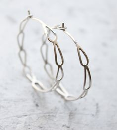 Silver Filigree Hoop Earrings / by Moira K. Lime Jewelry