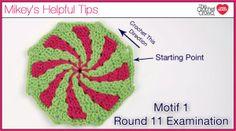 Peppermint Motif 1